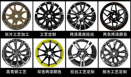 轮毂改色电镀